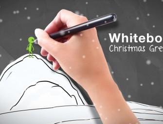 Whiteboard Christmas Greetings