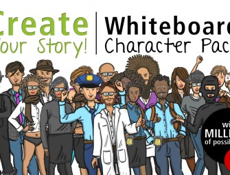 Create Your Story With Whiteboard Character Pack
